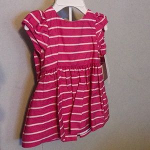 Ralph Lauren 3 Month Pink & White Stripe Dress